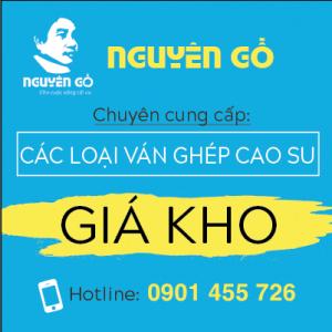 Giá ván ghép, gỗ ghép cao su tại quận Gò Vấp