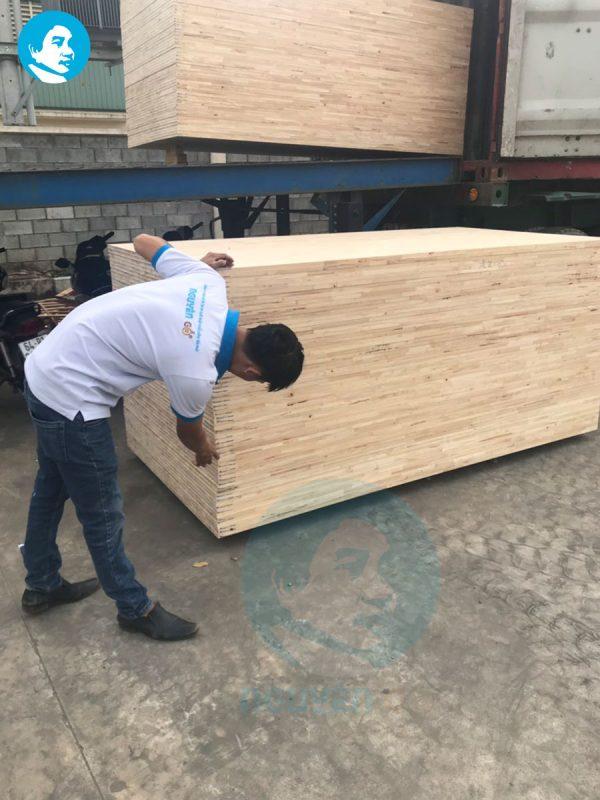 Giá ván ghép, gỗ ghép cao su tại quận 12