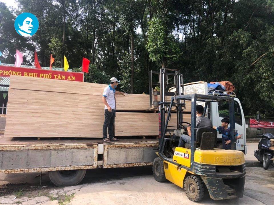 Giá ván ghép, gỗ ghép cao su tại quận 4 của Đồng Tấn Phát Nguyên Gỗ hiện tốt nhất thị trường.