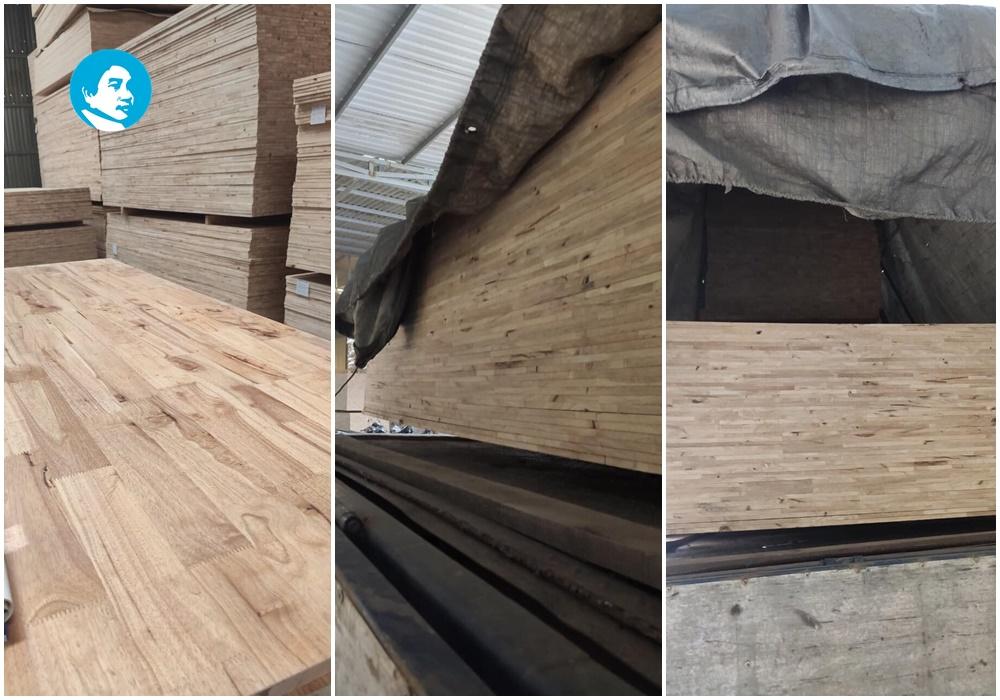 Giá ván ghép, gỗ ghép cao su tại quận 1