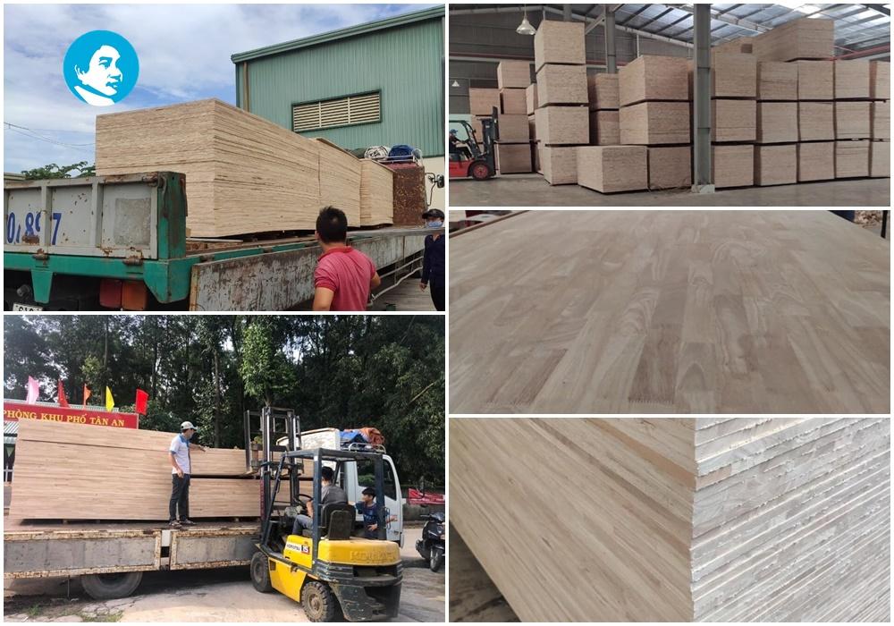 Giá ván ghép, gỗ ghép cao su tại quận 5