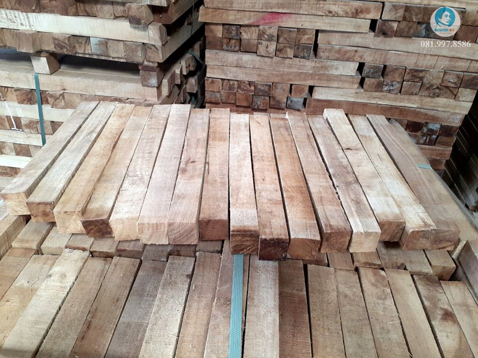 Phôi gỗ cao su gồm những loại nào?