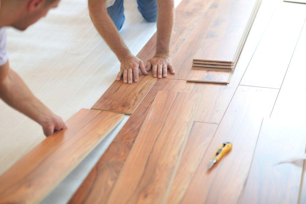 Gỗ cao su dùng để làm sàn nhà mang đến cho không gian sự hiện đại