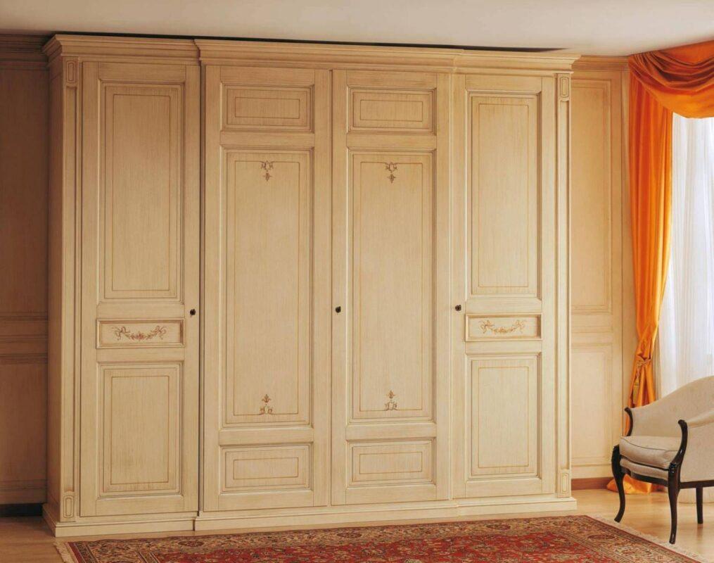 Tủ quần áo làm bằng gỗ cao su có độ bền rất cao